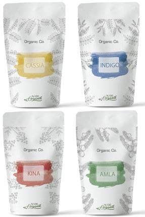Organic Co . %100 Doğal Kimyasalsız Saç Boyama 400gr.