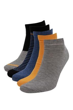 DeFacto 5'li Kısa Çorap