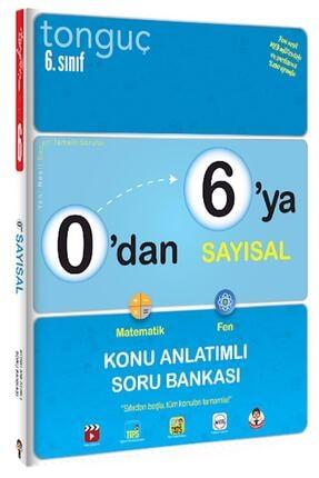 Tonguç Akademi Tonguç Yayınları 6. Sınıf 0'dan 6'ya Sayısal Konu Anlatımlı Soru Bankası