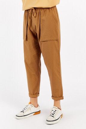 Manche Toprak Erkek Keten Pantolon