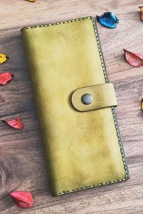 Gariza Design Deri Telefon Bölmeli El Çantası