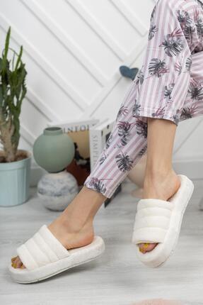 Moda Frato Açık Kadın Ev Terliği Kışlık Terlik