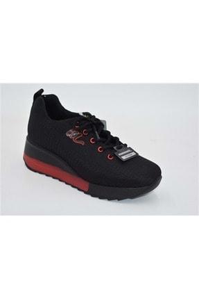 Mammamia D21ka-3520-z Tekstil Kadın Spor Ayakkabı - Siyah - 37