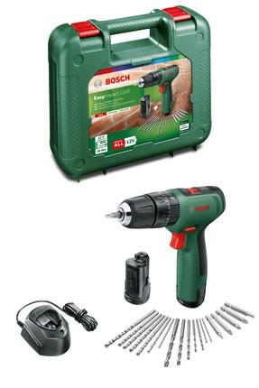 Bosch Easyımpact 1200 + Gal 1210 Cv + Ac Kit (çift Akü, 2x1,5ah) Akülü Darbeli Delme & Vidalama Makinesi