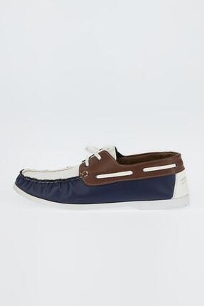 DeFacto Erkek Beyaz Suni Deri Bağcıklı Günlük Ayakkabı
