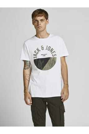 Jack & Jones Bisiklet Yaka 2021 T-shirt 12190150 Jcostar