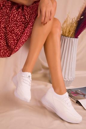 SOHO Kadın Beyaz Sneaker 15226