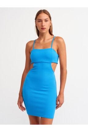 Dilvin 9137 Sırt Detaylı Elbise