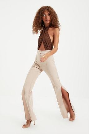 TRENDYOLMİLLA Taş Yırtmaçlı Pantolon TWOAW22PL0134