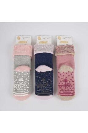 Artı Ceylin 3'lü Abs'li Kız Havlu Soket Çorap