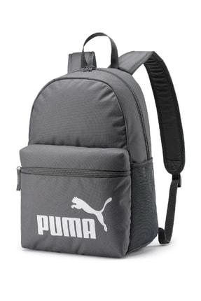Puma Gri Sırt Okul Çantası
