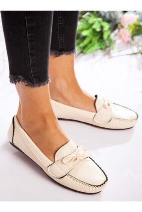 ayakkabıhavuzu Kadın Krem Günlük Ayakkabı  1713021