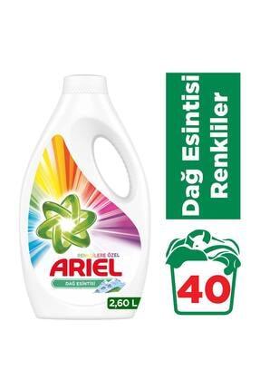 Ariel 40 Yıkama Sıvı Çamaşır Deterjanı Dağ Esintisi Renkliler için