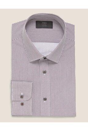 Marks & Spencer Geometrik Desenli Gömlek