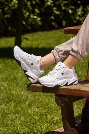 George Phoenix Tech Beyaz Siyah Unisex Sneaker