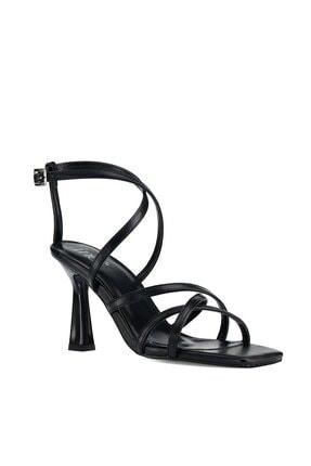 İnci Blazıng.z 1pr Siyah Kadın Sandalet