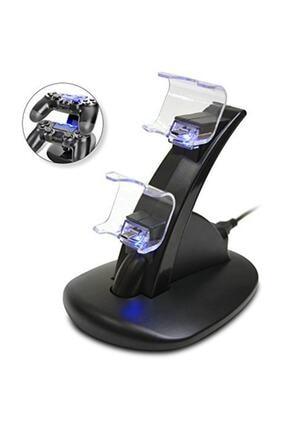 Dobe Dualshock 4 Şarj Standı Ikili Hızlı Şarj Ps4 Işıklı