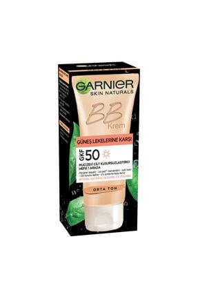 Garnier Skin Naturals Bb Cream Leke Karşıtı Orta 50 Ml