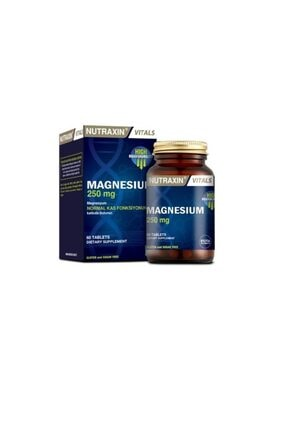 Nutraxin Vitals Magnesium Citrate 250 Mg 60 Tablet
