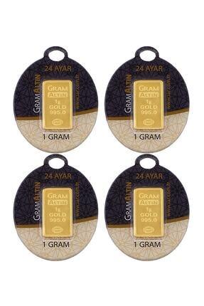 Tuğrul Kuyumculuk 4 Adet 1 Gr 24 Ayar Gram Altın G000044