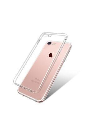 Sunix Apple Iphone 8 Kılıf Tam Şeffaf Silikon Transparan