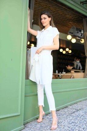 BEZKO Beyaz Takım    Elbise