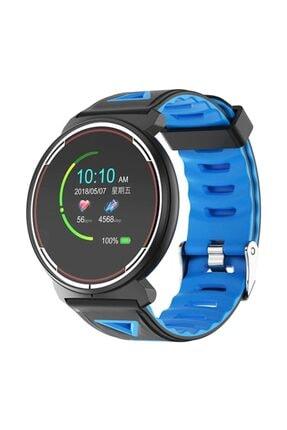 Munluck Smart Watch St1 Dokunmatik Ip68 Su Geçirmez Mavi