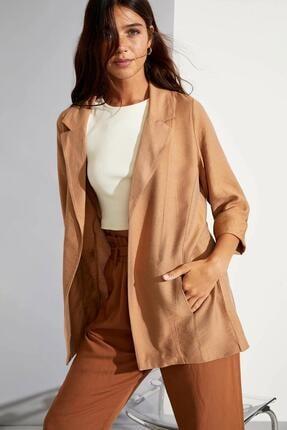 DeFacto Kadın Fit Uzun Kollu Blazer Ceket