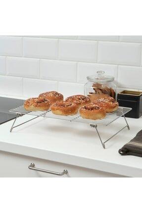IKEA Lattbakad 39x28 Cm Soğutma Tepsisi Rafı Paslanmaz Çelik