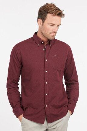 Barbour Uxbridge Tailored Gömlek Re89 Winter Red