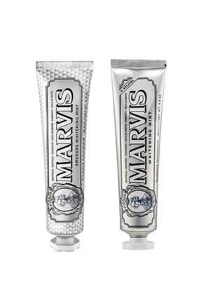 Marvis Smokers Whitening Mint 85 ml + Whitening Mint 85 ml 8864537839000-mf