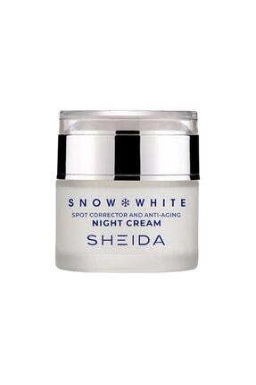 Sheida Snow White Anti-Aging Leke Açıcı Gece Kremi 40 ml