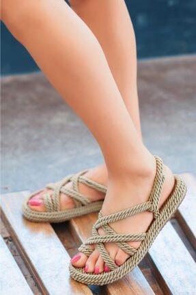ESPARDİLE Nala Roz Halatli Sandalet