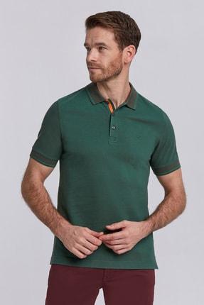Hemington Koyu Yeşil Basic Pike Pamuk Polo T-shirt