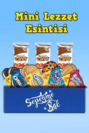 Oreo Mini Lezzet Esintisi Yurt Dışı & Chips Ahoy & Nutter Butter & Kinder Card X2