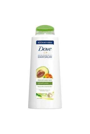 Dove Saç Dökülmesine Karşı Etkili Saç Bakım Şampuanı 600 ml