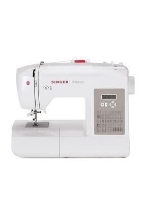 SİNGER Beyaz Brilliance Dikiş Makinesi 6180
