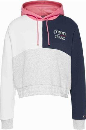 Tommy Hilfiger Tjw Crop Colorblock Logo Sweatshirt