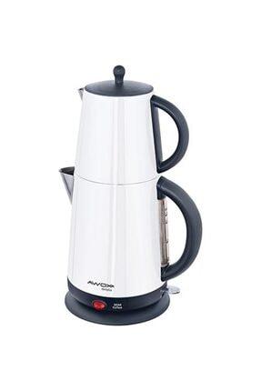 AWOX Demplus Beyaz 2200 W Çelik Çay Makinesi
