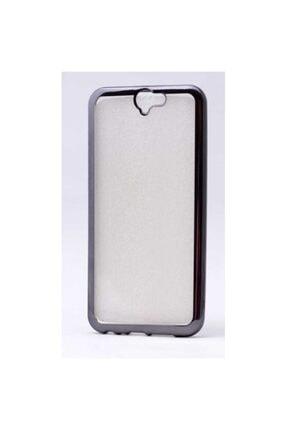 HTC One A9 Kılıf Lazer Kaplamalı Koruyucu Silikon Kapak