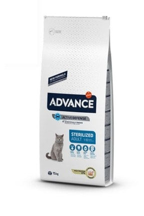 Advance Sterilised Hindili Urinary Kısırlaştırılmış Kuru Kedi Maması 15 Kg
