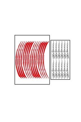 Pulsar Reflektör Kırmızı Jant Şeridi