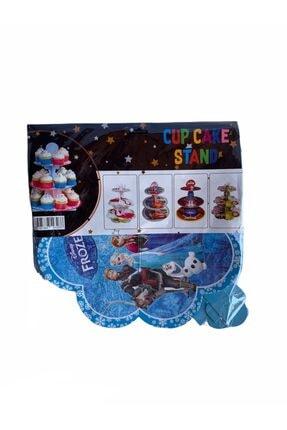 partiyy 3 Katlı Frozen Denizkızı Cupcake Standı