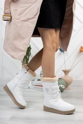Moda Frato Twn995 Kadın Kar Botu Yünlü Bayan Bot