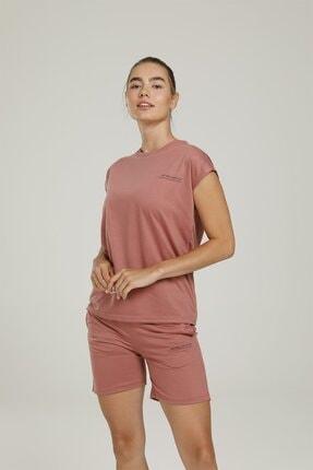 lumberjack Ct954 Anna Sleeveless T-s Mürdüm Kadın Kolsuz T-shirt