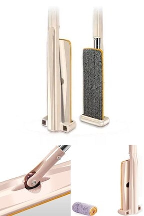 Buffer 3lü Matkap Ucu Fırça Seti + Mikrofiber Mekanizmalı Tablet Dikey Pratik Kovasız Portatif Mop Paspas