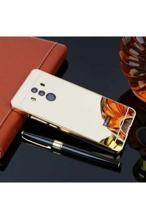 Huawei Mate 10 Pro Kılıf Darbeye Dayanıklı Parlak Aynalı Kapak