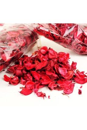 Anka Kokulu Kuru Gül Yaprakları Kırmızı 150 Gr A Kalite