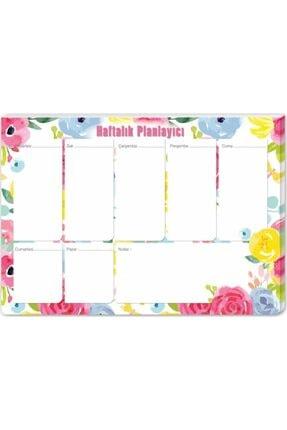KESKİN COLOR Masa Üstü Haftalık Planlayıcı (Planner) Bahar 17x24cm 52 Yaprak 830162-99