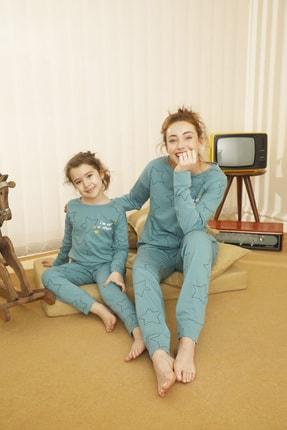 Siyah İnci Pamuklu Likralı Pijama Takım